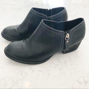 Dr. Scholl's Jordan Black Comfort Ankle Boots